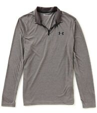 Under Armour Mens Ua Threadborne Siro 1/4 Zip Shirt Pullover Gray S #1289600-Nwt