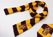 HARRY POTTER SCIARPA SCARF GRIFONDORO GRYFFINDOR SERPEVERDE COSPLAY SLYTHERIN #2