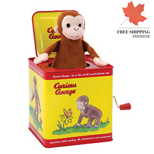 Schylling Curious George Jack In The Box ?? FAST & FREE
