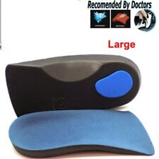 Orthotic Arch Support Insoles For Plantar Fasciitis Fallen Arches 3/4 Flat Feet