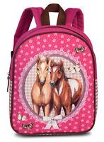 Fabrizio Kinderrucksack Kindergarten Rucksack Pferd Pferde 549