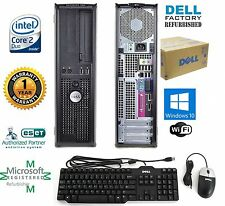 Dell OptiPlex Desktop PC 120GB SSD Intel 8GB RAM  WINDOWS 10 hp 64 WIFI