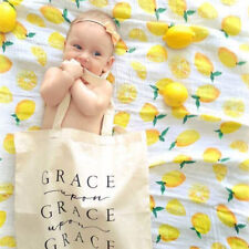 1 Cotton Muslin Baby Swaddle Blanket Wrap Newborn 120x120cm 47