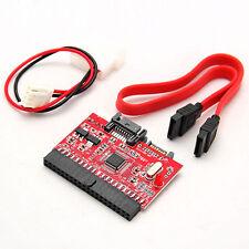 2 in 1 Adapter Converter IDE Festplatte auf SATA S-ATA auf IDE 100/133 30cm