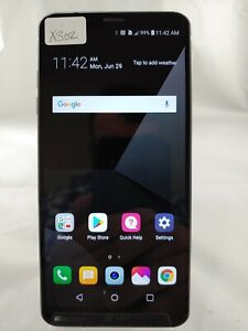 LG G6+ LGUS997 128GB AT&T GSM UNLOCKED Android Smartphone Cellphone BLACK X302