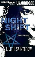 Night Shift by Nora Roberts and Lilith Saintcrow (2012 CD Unabridged) Audio Book