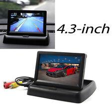 TFT-LCD NACHTSICHT 4.3 Zoll MONITOR Für Auto KFZ PKW Kamera Car Camera Display