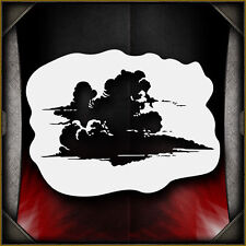 clouds 1 -  Airbrush Stencil Template Airsick Cloud