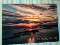 BEAUTIFUL POST CARD SAN JUAN ISLANDS WASHINGTON