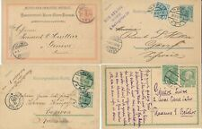 Austria 1898-1934 Lot x 9 Cards & Postmarks Advertising Österreich
