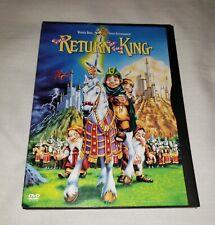 THE RETURN OF THE KING (DVD, 2001) Animated, Warner Bros Snapcase Digipack