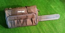 """Chainsaw Carry Case Bag up to 20"""" bar on mid size saw, pockets rubber bottom HD"""