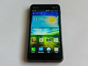 LG Escape LG-P870 Black 4G LTE 4GB AT&T Wireless Touchscreen Android Smartphone