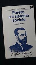 Norberto Bobbio: Pareto e il sistema sociale. Sansoni, 1973
