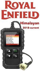 Royal Enfield Himalayan 2018-2020FI OBD fault code scanner diagnostic tool