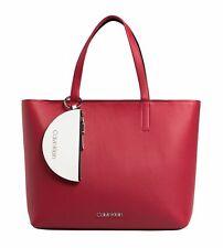 Calvin Klein CK Must Large Shopper Shopper Tasche Lipstick Red Rot