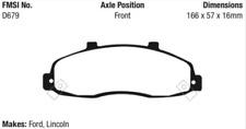 EBC Yellowstuff Brake Pad Set Front for 98-04 F150 / 01-03 Blackwood # DP41259R