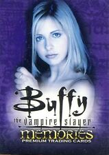 Inkworks Buffy TVS Memories Complete 90 Card Base Set