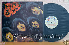 BEATLES RUBBER SOUL SOVIET RUSSIAN HARD TO FIND PRESSING TOPOGRAPHIC MAP AnTrop