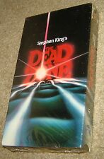 THE DEAD ZONE VHS, NEW AND SEALED, RARE, WITH CHRISTOPHER WALKEN, BROOKE ADAMS