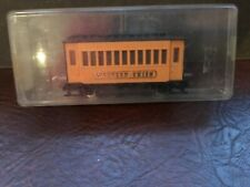 Jouef /Egger Bahn.  Western  Passanger coach  yellow  boxed