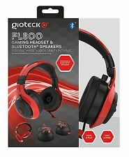Playstation 4 Gioteck FL300 Con cable Auriculares PS4 PS3 PC (xb 1 *) + Altavoces Bluetooth