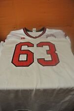University Of Nevada Las Vegas White Game Used Football Jersey Size Xxl #63
