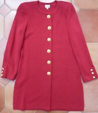 VIYELLA PETITE - Knitted Coat Jacket - Red - £139 - Small - UK size 8    REDUCED