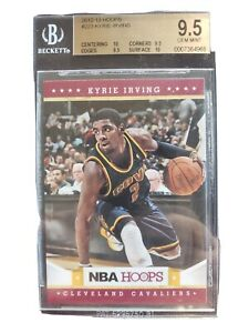 2012-13 NBA Hoops Kyrie Irving #223 RC BGS GEM-MINT 9.5 Rookie Brooklyn Nets