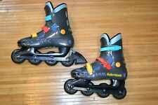 Retro 90s Mens Cool Blade Rollerblade Inline Skates Size 7 Made in Italy