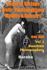 80+ FINE VINTAGE NUDES AMERICAN EROTIC PHOTOGRAPHERS BARAKA'S GUIDE PHOTO CD-ROM
