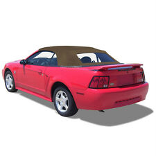 Ford Mustang Convertible Top & Defroster Glass Window SADDLE Sailcloth 94-04
