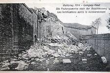 18178 AK Weltkrieg 1914 Longwy-Haut Festungswerke nach Beschuss Trümmer um 1920