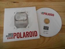 CD Pop David Pfeffer Band - Polaroid (3 Song) Promo SMARTEN UP cb
