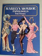 Marilyn Monroe Paper Dolls by Tom Tierney / 1979 Uncut / Vintage