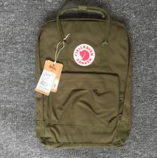 Classic Fjallraven Kanken Backpack Canvas Sports Handbag 20L