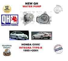 Para HONDA CIVIC 1.6 1.8 VTi VTEC integra 1.8 Tipo R 1995-2001 nuevo QH bomba de agua