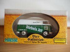 """Vitesse VW Volkswagen Transporter T1 """"Diebels Alt"""" in Green/White on 1:43 in Box"""