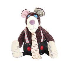 LES DEGLINGOS Original Ours Gromos 25 cm peluche, doudou, Soft toy, Plüschtier