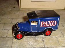 LLEDO - PROMOTIONAL - MODEL A FORD  VAN -  PAXO -  BOXED