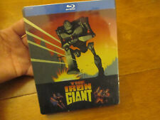 THE IRON GIANT BLU RAY Steelbook Limited US Edition  BRAND NEW FACTORY SEALED