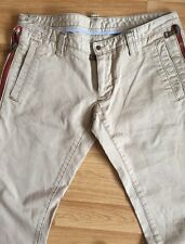 GENUINE RARE DSQUARED2 D2 BEIGE  MENS JEAN SIZE 48 UK 32 W32 L36 IL29