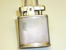 RONSON Pocket Lighter W. Sterling Silver Case-U.S. Pat. re. no 19023-U.S.A.