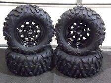 "POLARIS RZR 170 BIGFOOT 23"" QUADKING ATV TIRE  ITP BLACK ATV WHEEL KIT BIGGHORN"