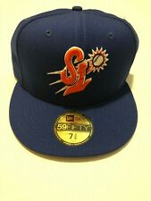 New Era St. Lucie Mets Royal Custom Collection 59FIFTY Fitted Hat 7 3/8