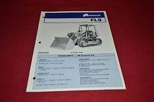 Fiat Allis Chalmers FL9 Crawler Loader Tractor Dealer's Brochure DCPA2 ver2