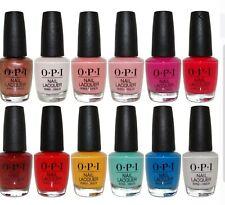 Opi Nail Polish, Set of 10 Random, All Different Colors No Repeats
