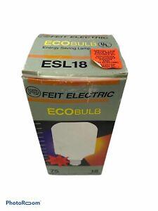 Feit ESL18 18-Watt Compact Fluorescent Ecobulb Lamp Light Bulb 18W Daylight