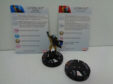 Heroclix - ULTRON-18.2 - Age of Ultron- #054a & #054b Chase Figure w/ Cards