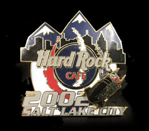 Salt Lake City 19th Winter Olympic Games Hard Rock Cafe Bobsled LE moving pin